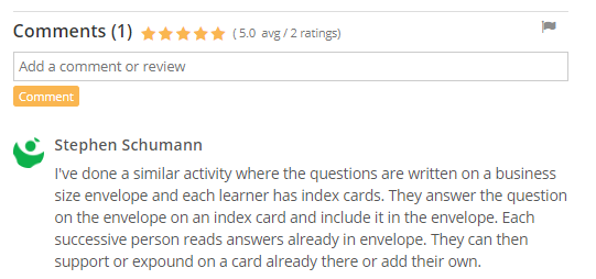 Rating and commenting in library