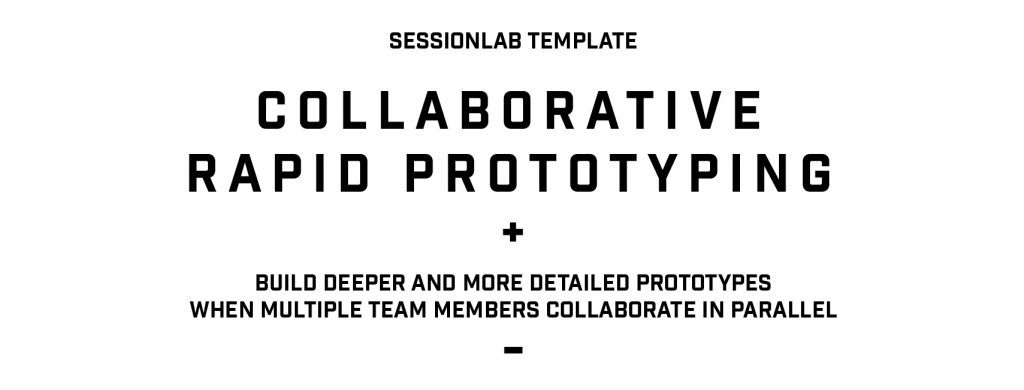 Collaborative Rapid Prototyping - cover image