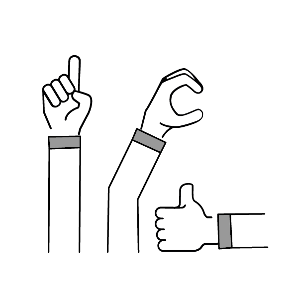 Finger Rules Facilitation method - icon