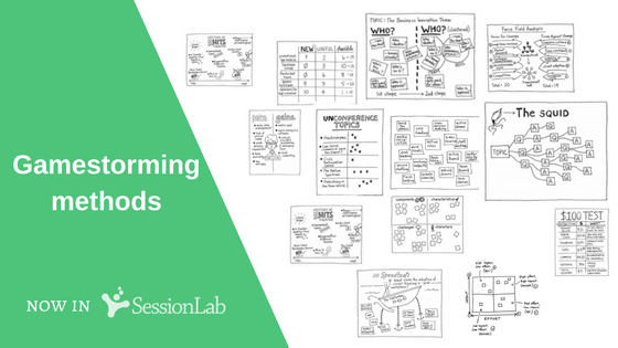 gamestorming methods now in SessionLab library!