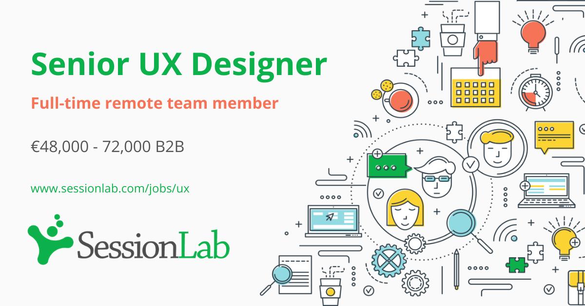 Join Our Team Senior Ux Designer Sessionlab