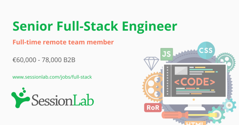 SessionLab Full-Stack job ad cover