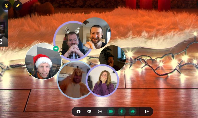Team Holiday event - spatial.chat